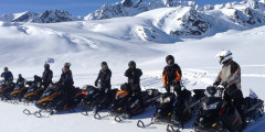 Alaska Wild Guides Backcountry Snowmobile Adventures