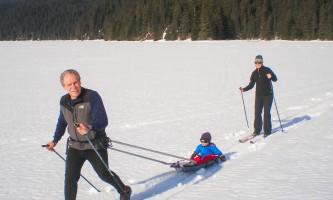 Bear lake cross country skiing 02 mz5q5n