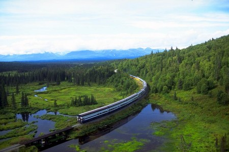 Denali Star Route (Anchorage - Talkeetna - Denali - Fairbanks)