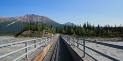 Kennicott River Footbridge