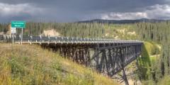 Kuskulana Bridge (mi 50.2)