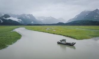 Coldwater alaska water taxi chinitna river pnvff9
