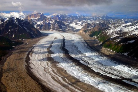 Lower Ruth Glacier