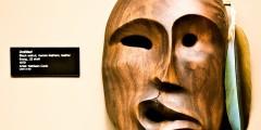 52. Athabascan Carver Kathleen Carlo masks
