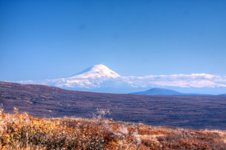 View of Wrangell Mountains MP 13