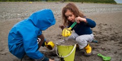 Kincaid Beach: Anchorage's Big Secret Sandy Beach