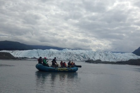 NOVA Alaska Guides Glacier Float