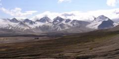 Mount Katmai Volcano