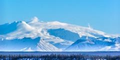 Mount Wrangell Volcano