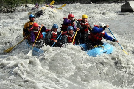 NOVA Alaska Guides Lions head Whitewater Rafting