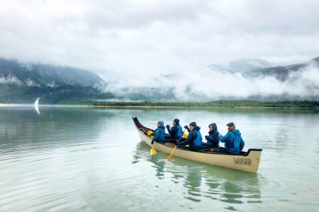 Mendenhall Glacier Canoe Tours by Liquid Alaska