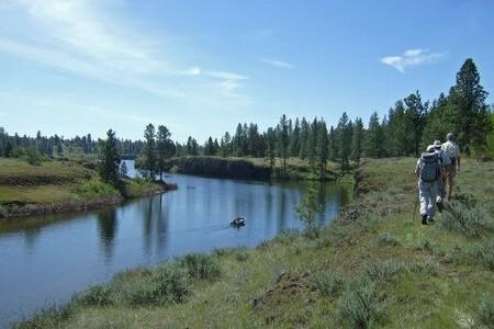 Fishtrap Lake to Snipe Lake
