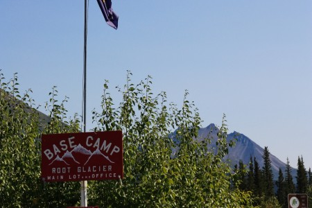 Base Camp Root Glacier