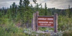 Donnelly Creek State Rec Area (mi 238)