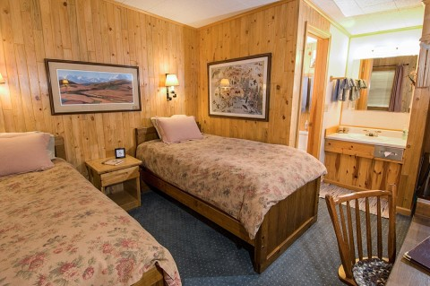 Discover the comforts of North Face Lodge