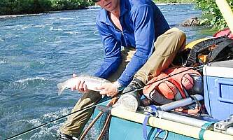 Pike trout day float adventure package trout pike float adventure