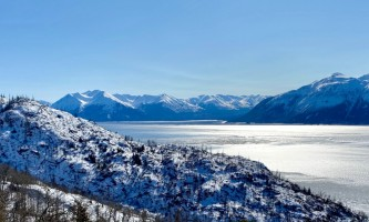 Turnagain arm snow alaska iditarod winter wonderland escorted tour 960