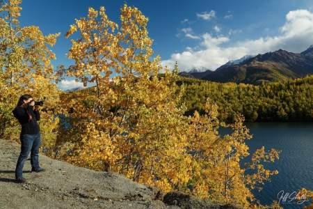 Jeff Schultz Alaska Bears, Glaciers and Fall Colors Photography Workshop