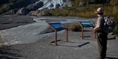 End of Glacier View Trail