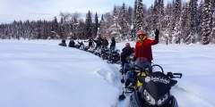 Alaska Backcountry Adventures Snowmachine Tours