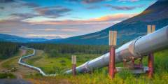 Denali Fault/Pipeline View (mi 216)