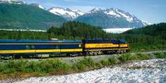 Glacier Discovery Train (Anchorage - Whittier - Spencer - Grandview)