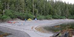Applegate Island S Campsite