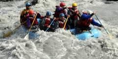 NOVA Alaska Guides Lions Head Whitewater Rafting