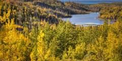 Upper Ohmer Lake Overlook