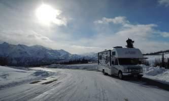 Abc motorhome winter rving p6px0v