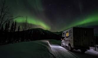 Alaska 4x4 rental serge march 2018 camper truck pgp6nx