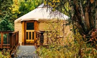 Manitoba cabin spirit walker yurt plqt2a