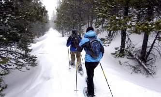 Outdoor gear rental snowshoe1 oii4xe