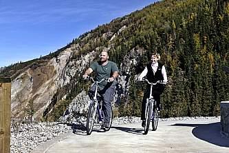 Biking at Denali Park Village 01 n4rlso