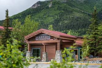 Canyon steakhouse dining canyon steakhouse exterior at mc kinley chalet mc 11 owhova