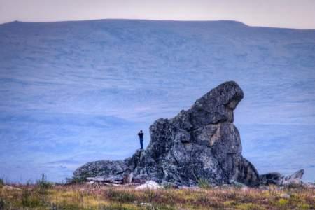 Views of Finger Rock (mi 96)