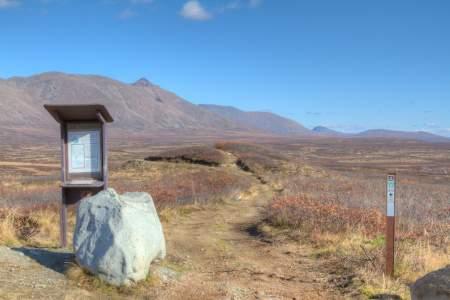 Glacier Lake Trail MP 30