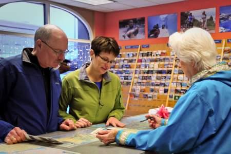 Log Cabin Visitor Info Center
