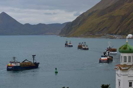 Carl E. Moses Boat Harbor - Deadliest Catch