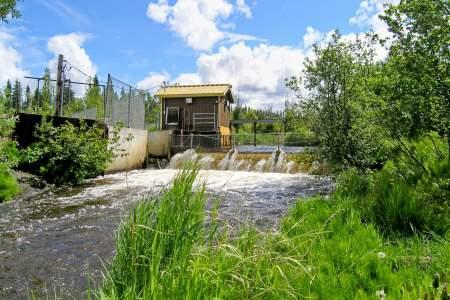 Crooked Creek Weir