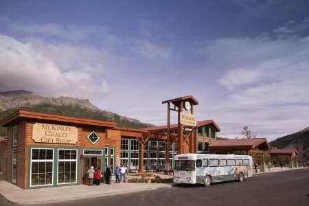 Denali Park Transit Bus