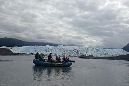 NOVA Alaska Guides Glacier Float