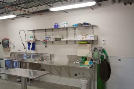 Infirmary/Orphan Cub Facility