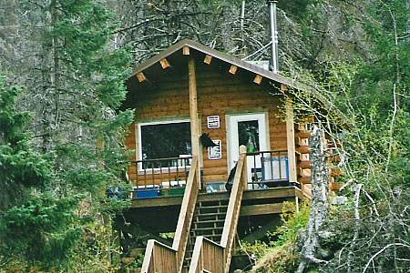 West Cabin in Halibut Cove Lagoon