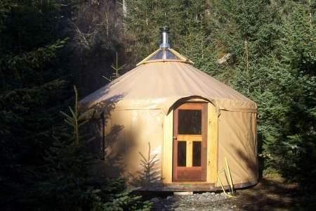 Right Beach Yurt