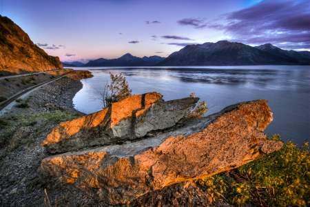 Beluga Point Lookout