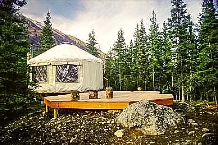 Rapids Camp Yurt
