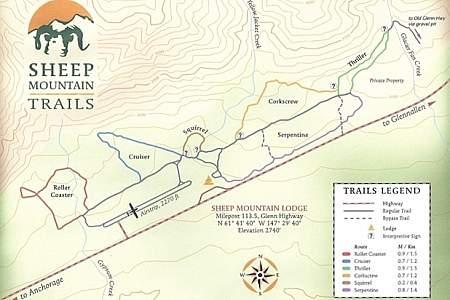 Sheep Mt. Lodge Trail System