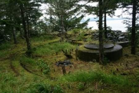 Sitka Causeway Trail at Ft. Rousseau State Historical Park