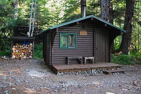 Sitkoh Lake West Cabin